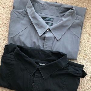 2 short sleeve shirts
